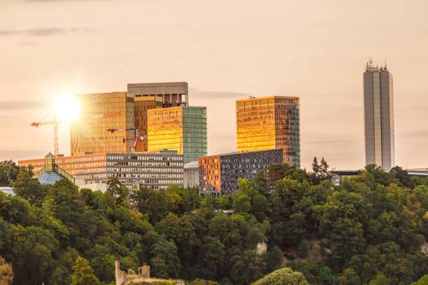 Europäischen Parlaments in Luxemburg – Foto