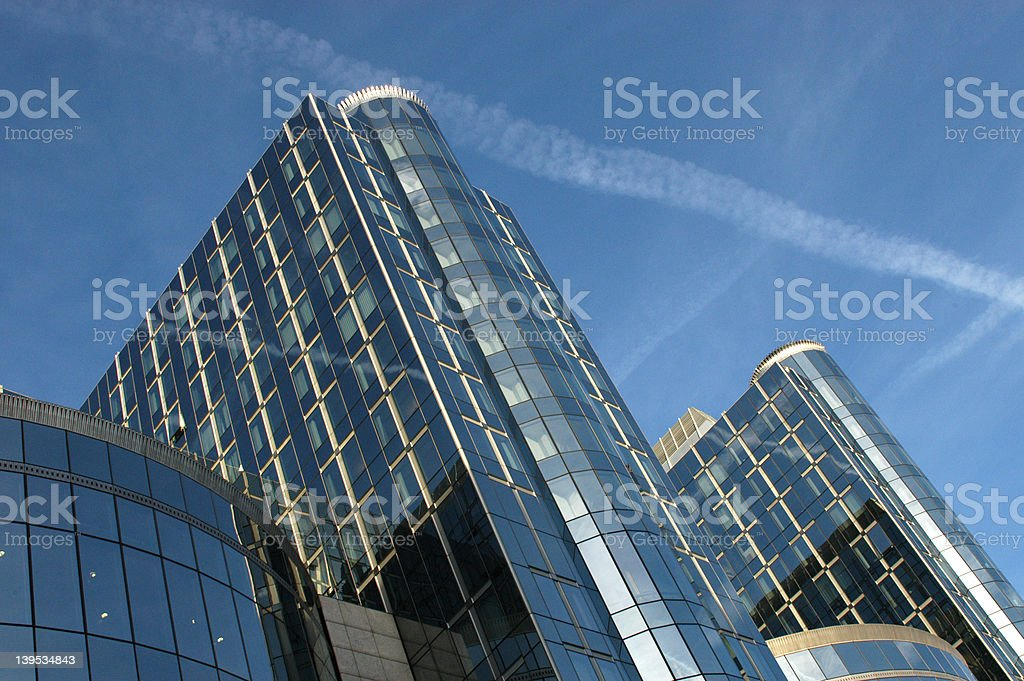 European Parliament royalty-free stock photo