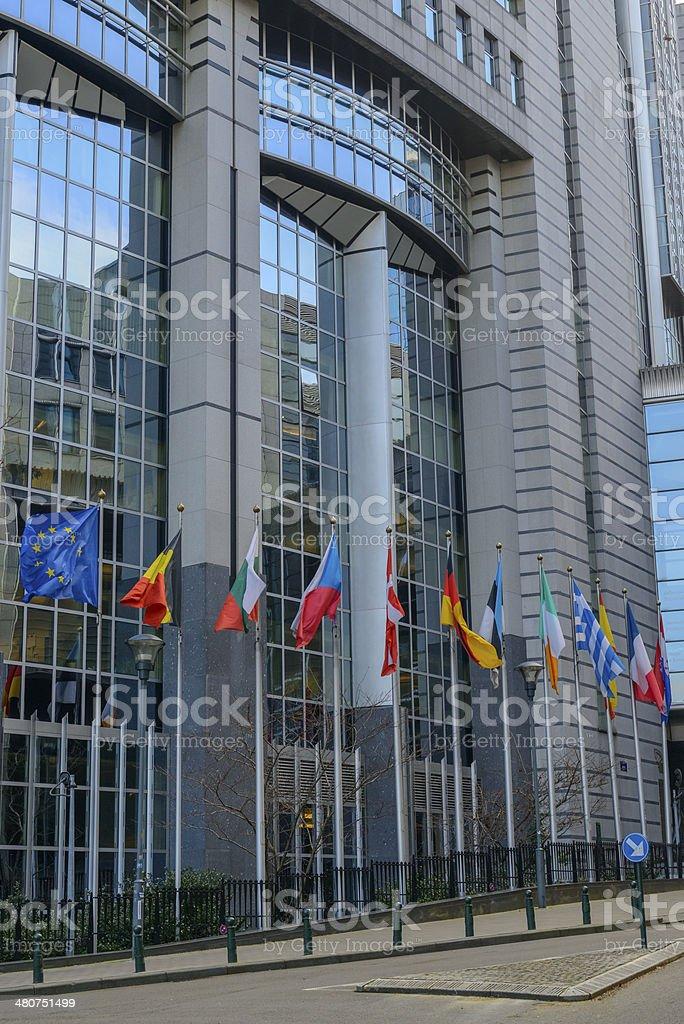 European Parliament stock photo