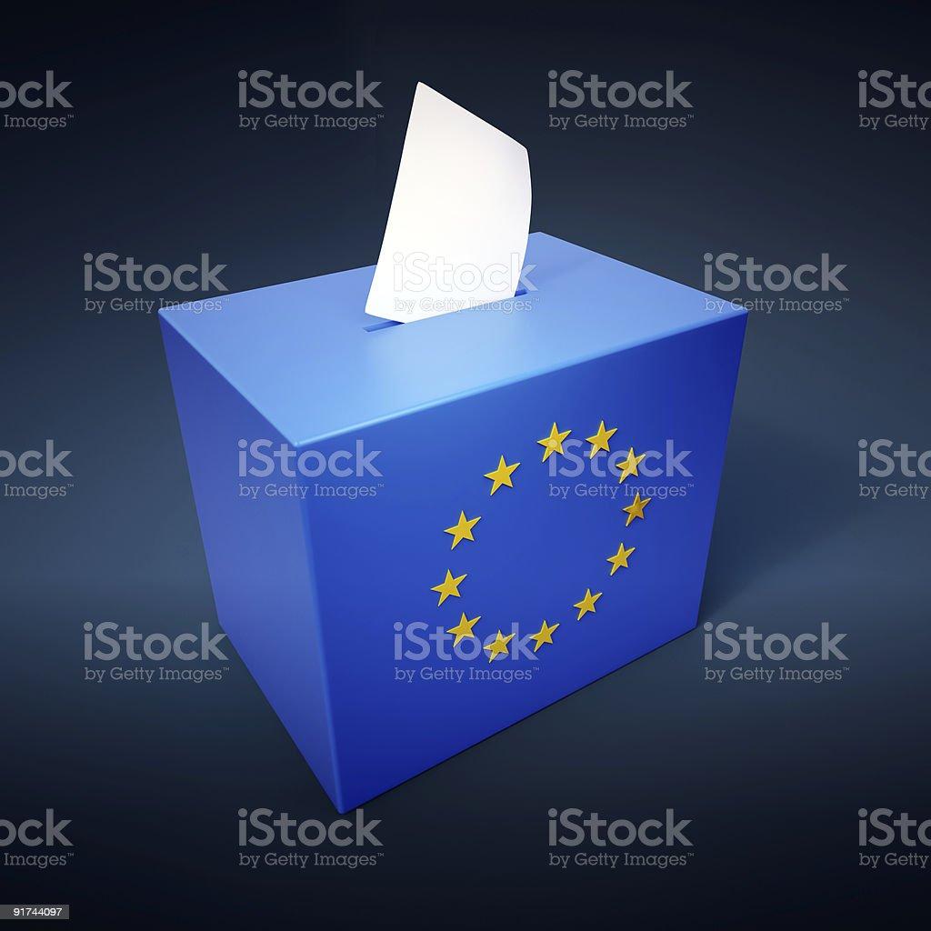 Europäische Parlamentswahlen abstrakte – Foto