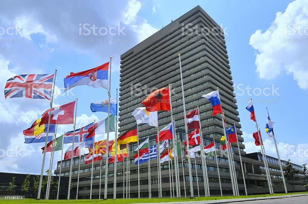 European Patent Office royalty-free stock photo