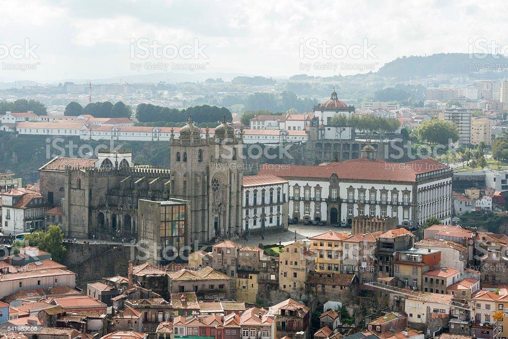 European Portugal Porto Cathetdral SE stock photo