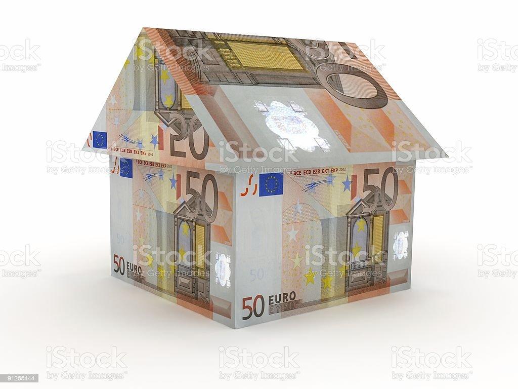 European Real Estate royalty-free stock photo