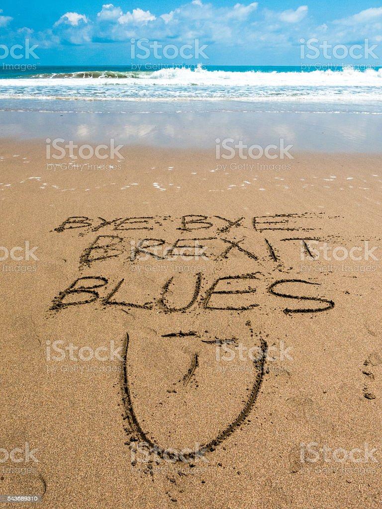 European Referendum Brexit Blues Vacation stock photo