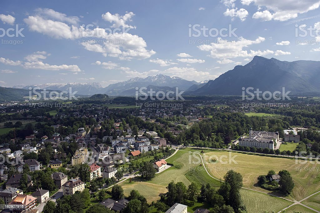 European Scenic stock photo