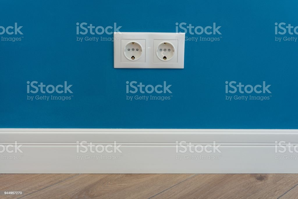 220 Volt Outlet >> European Standard 220 Volt Wall Electrical Outlet On Wall