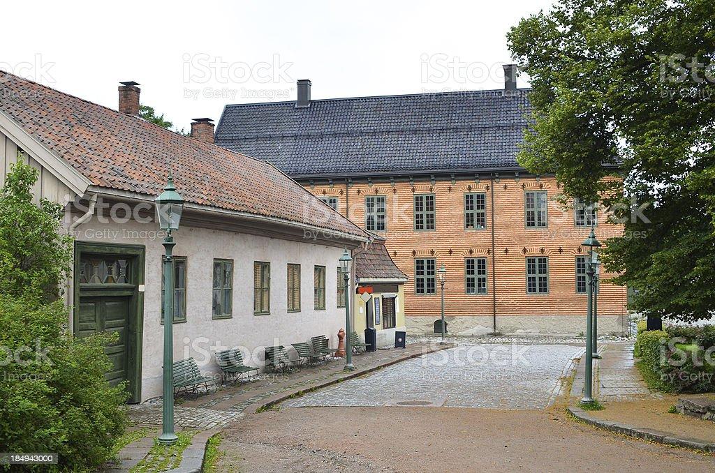 European Street stock photo