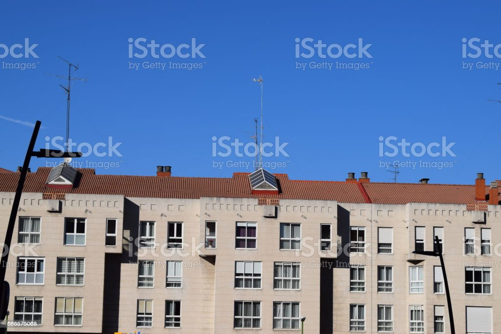 European Street foto stock royalty-free