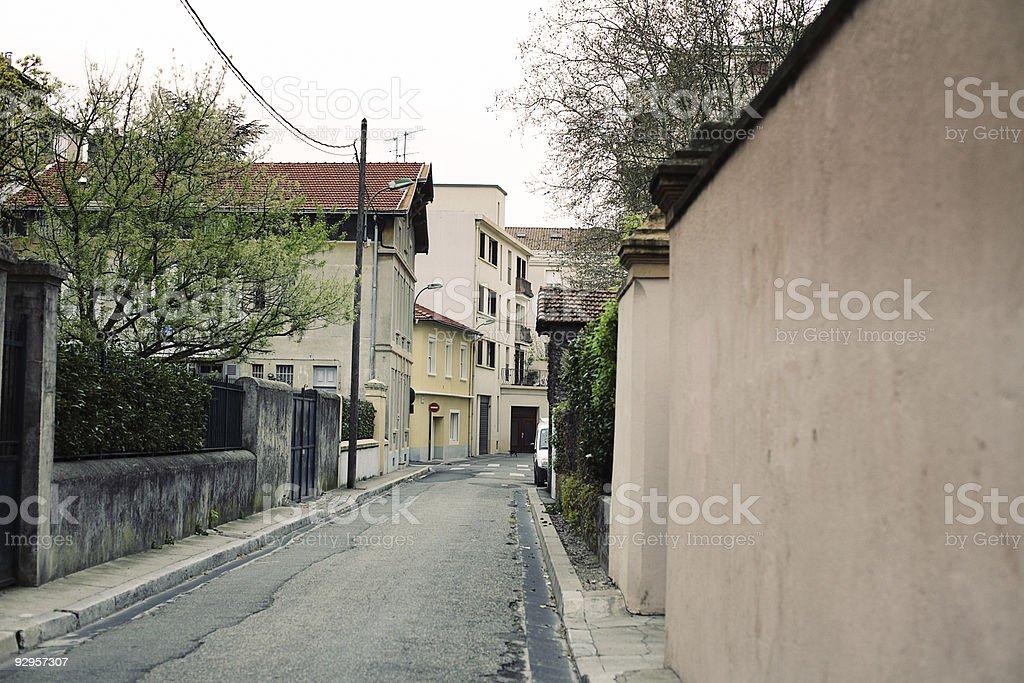 European street royalty-free stock photo