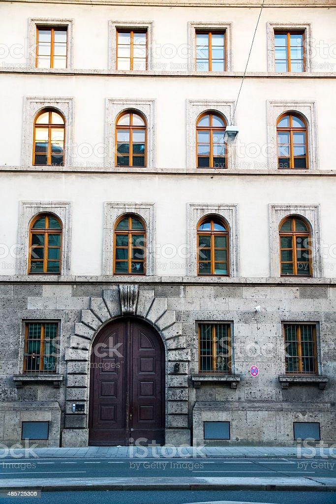 European Style Building stock photo