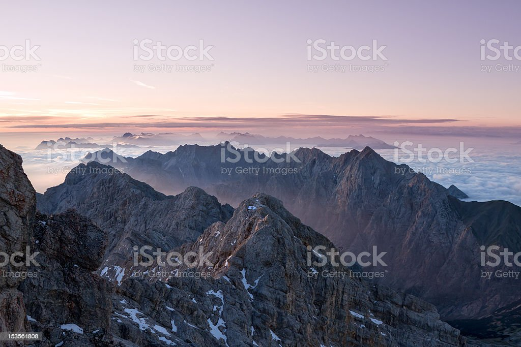 european sunrise stock photo