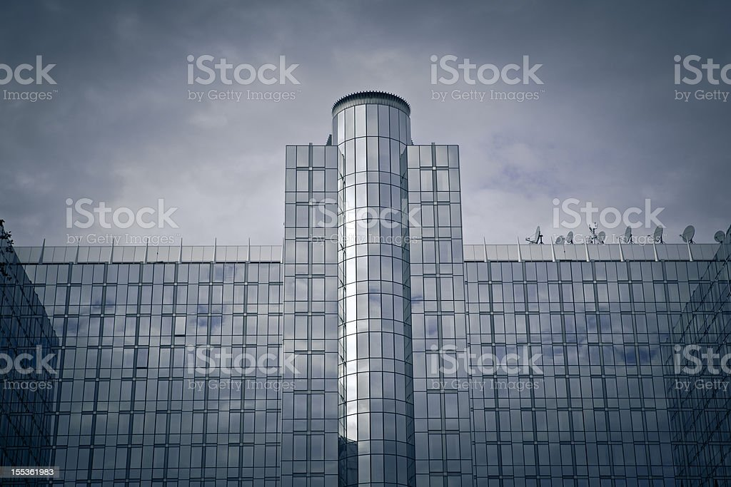 european union building royalty-free stock photo