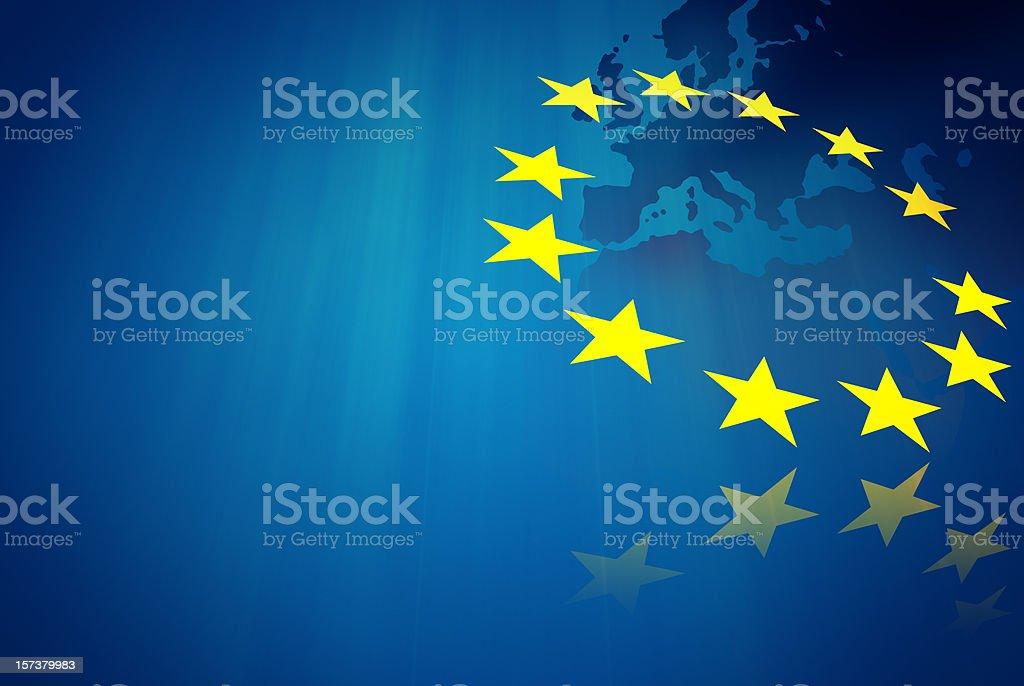 European union concept stock photo