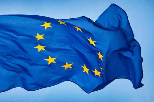 European Union Flag Stock Photo - Download Image Now