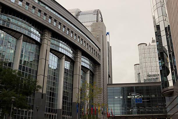 Europäischen Union das Parlament in Brüssel, Belgien – Foto