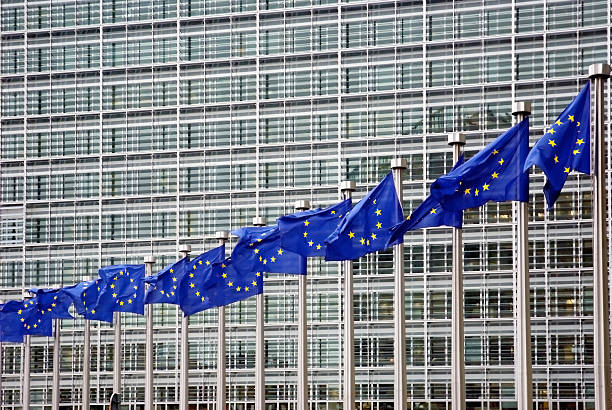 European Union  berlaymont stock pictures, royalty-free photos & images