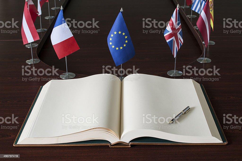 EU - European Union stock photo