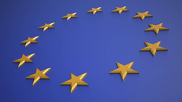 European Union Symbol stock photo