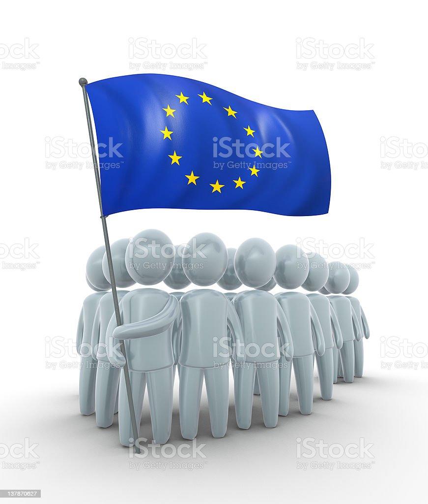 European unity royalty-free stock photo