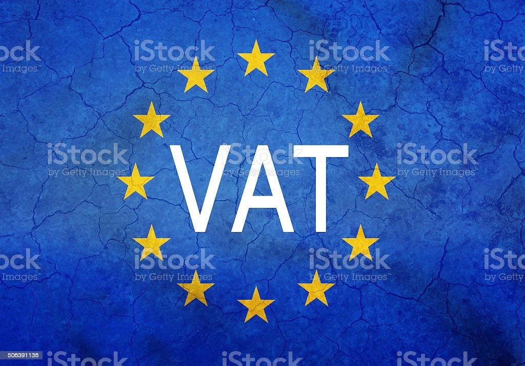 L'IVA europea foto stock royalty-free