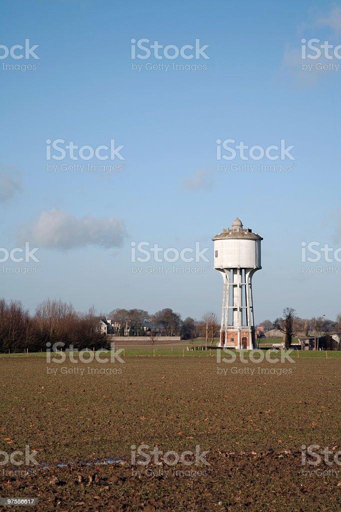 European watertower royalty-free stock photo