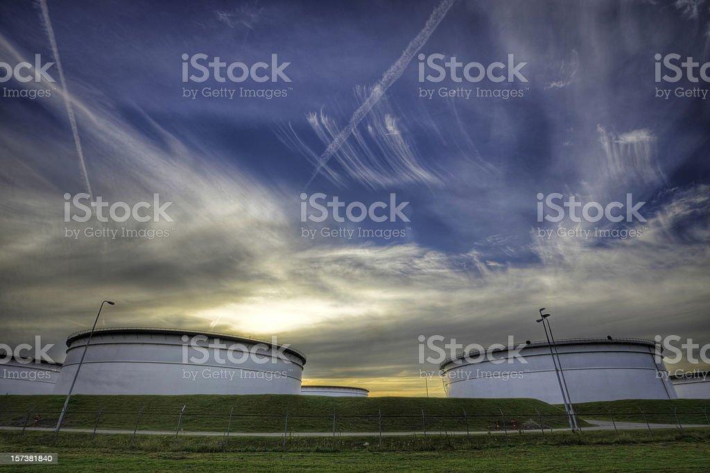 Europoort Storage royalty-free stock photo