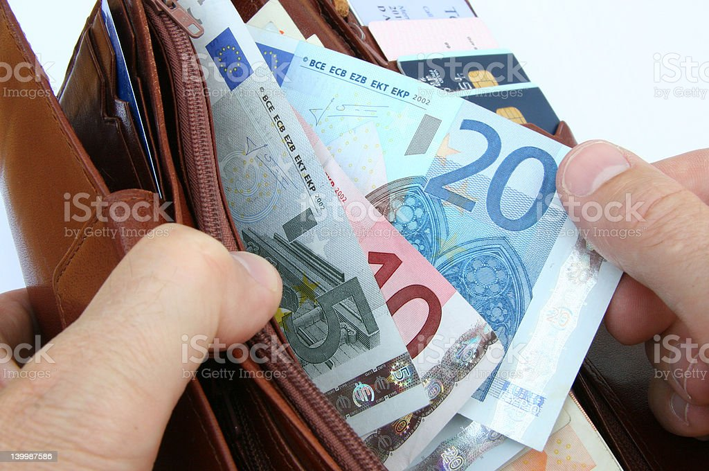 euros 2 royalty-free stock photo