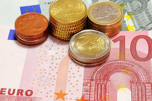 euro's stock photo