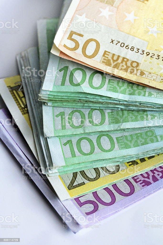 euros stock photo