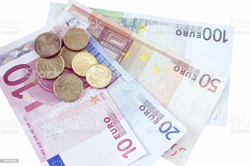 - Euro Lizenzfreies stock-foto