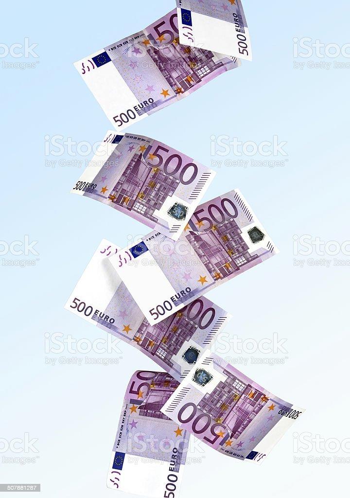 Euroscheine stock photo