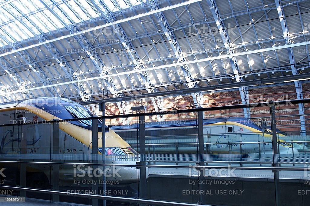 Eurostar stock photo