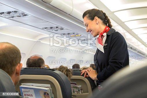 istock Eurowings flight attendant 823006998