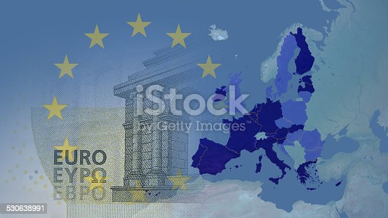 istock Eurozone 2014  16:9 with borders between members 530638991