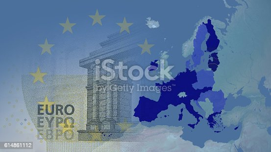 istock Eurozone  (after brexit) 2017 version. 614861112