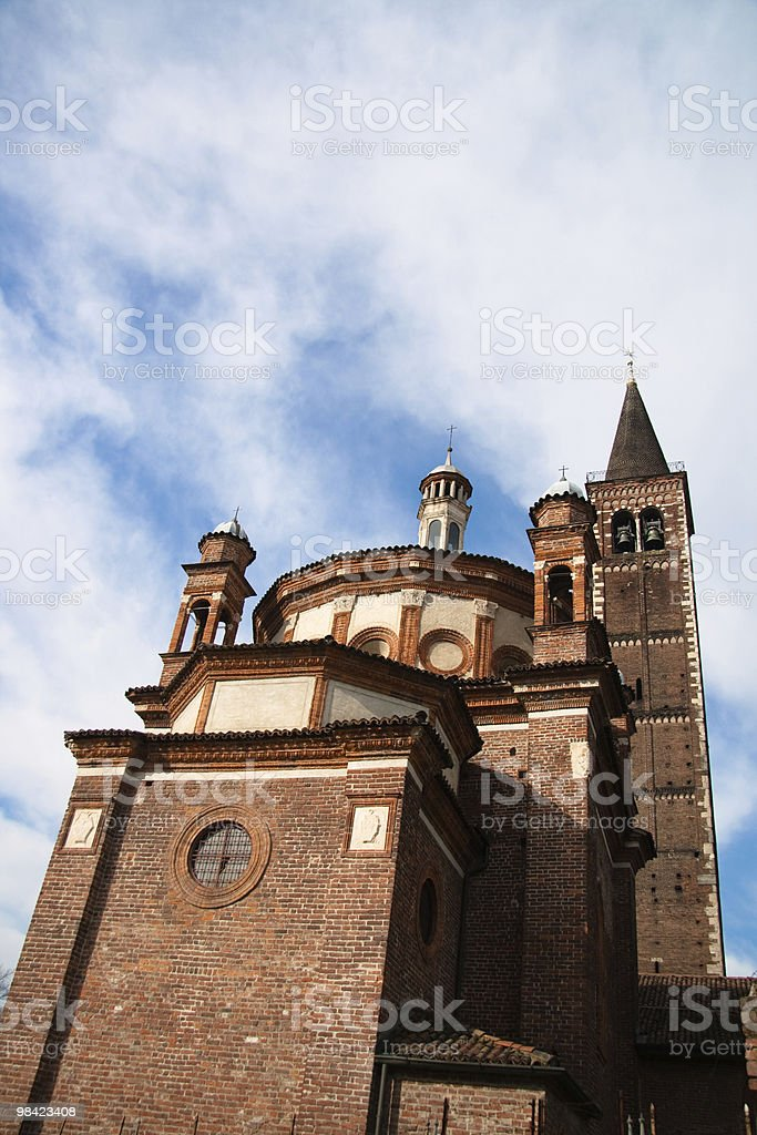 Eustorgio cathedral royalty-free stock photo