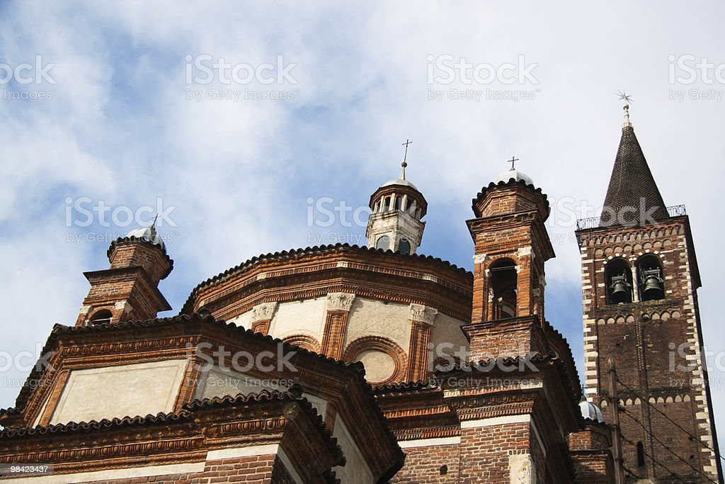 Eustorgio Cattedrale foto stock royalty-free