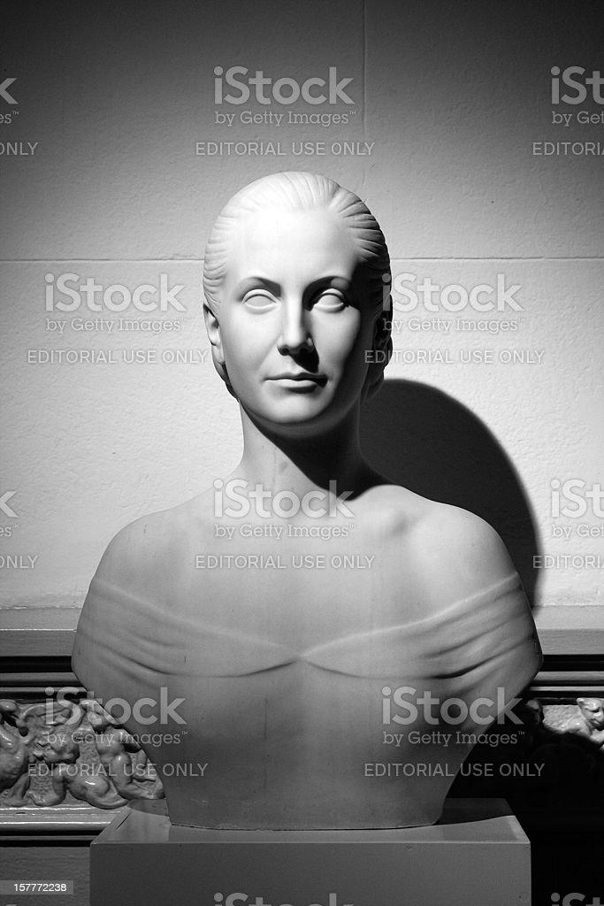 Eva Perón stock photo
