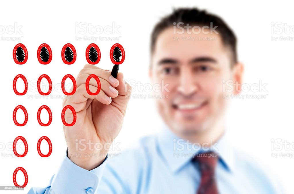 Evaluation stock photo