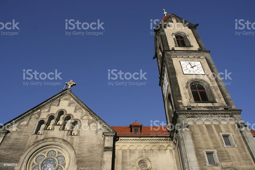 Evangelical Church royalty-free stock photo