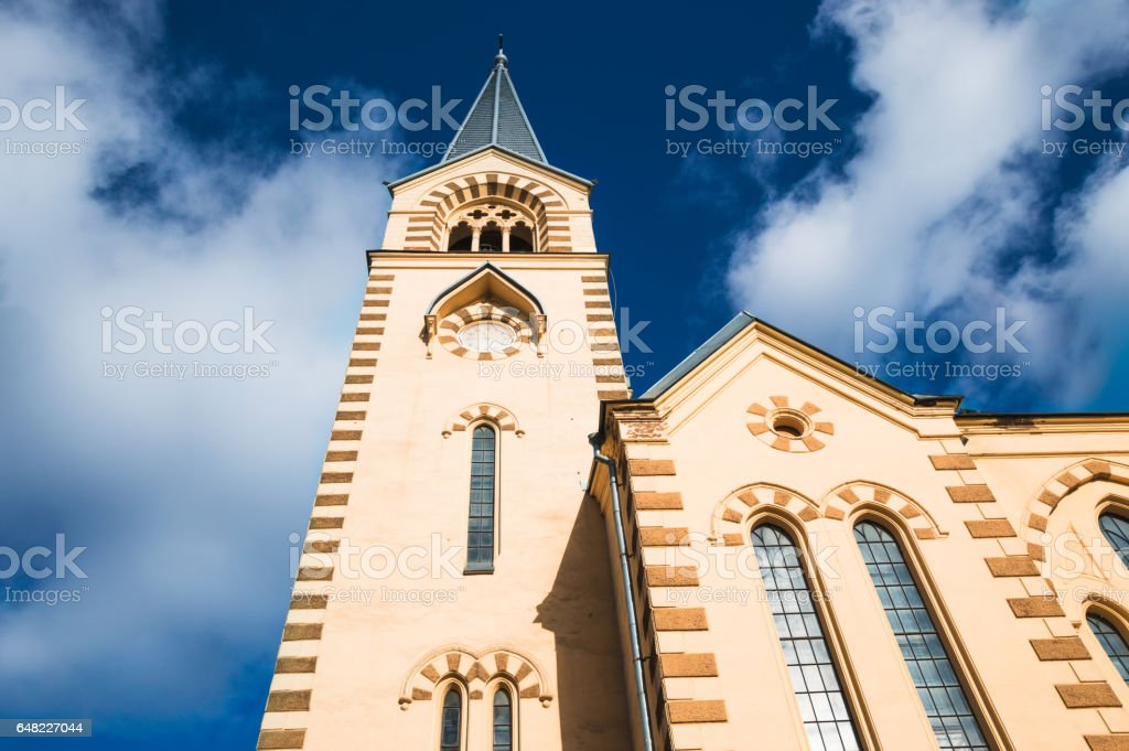 Evangelical Lutheran Church stock photo