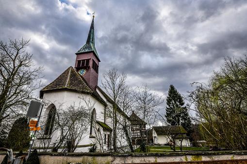 Evangelical Reformed Church In Laufen Am Rheinfall, Switzerland