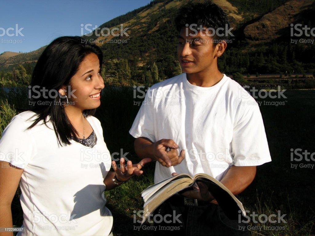 Evangelism stock photo