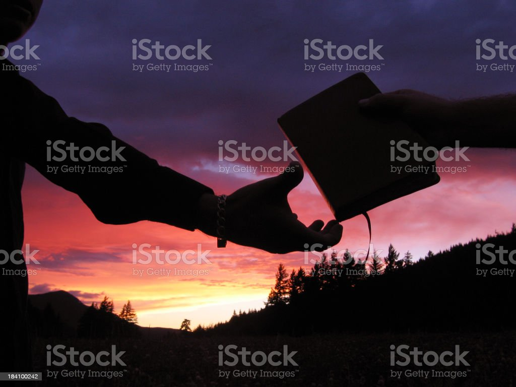 Evangelism stock photo