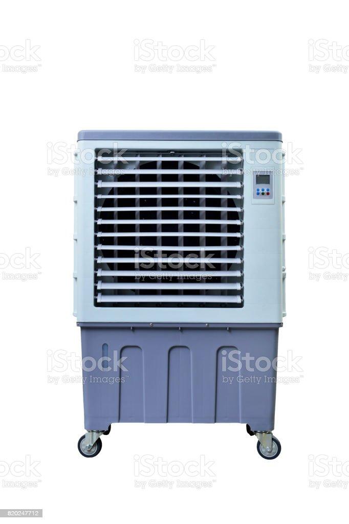 evaporative air cooler fan stock photo