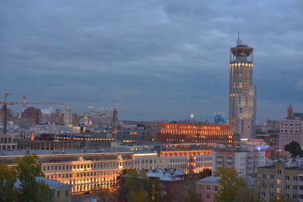 Cтоковое фото Evening architecture