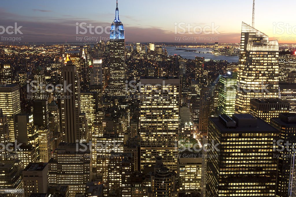 evening at new York​​​ foto