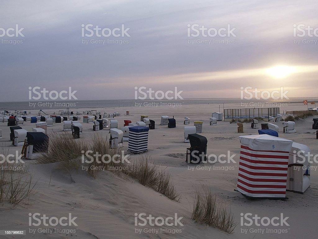 Abend am Strand – Foto
