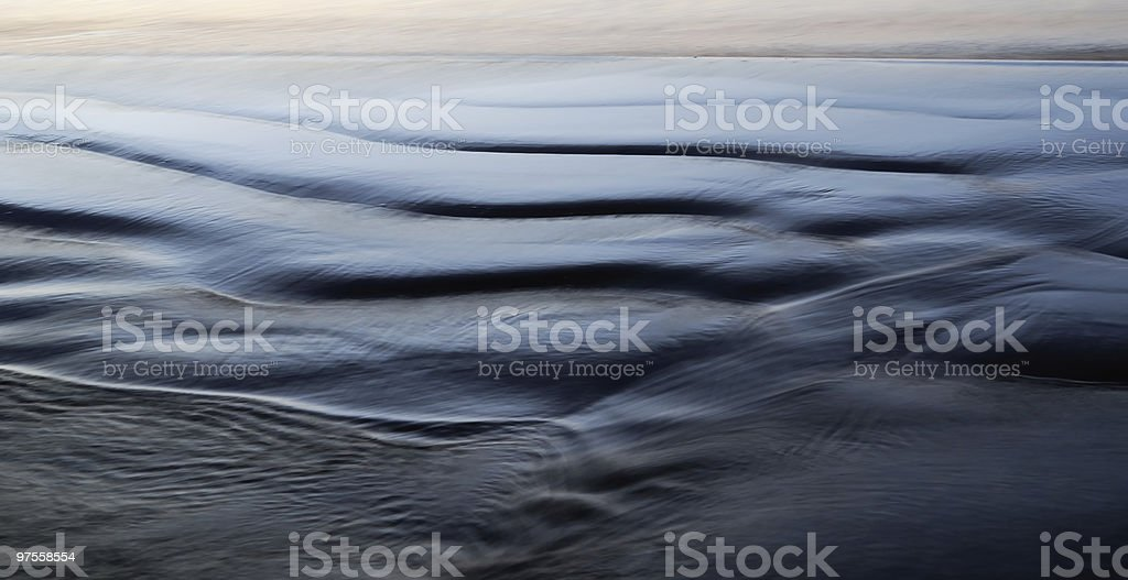 evening beach royalty-free stock photo
