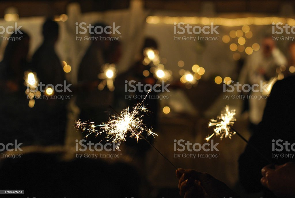 Evening Celebration stock photo